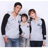 韓版冬款刷毛《飛得更高-灰色》長袖親子裝@三件組【預購款】