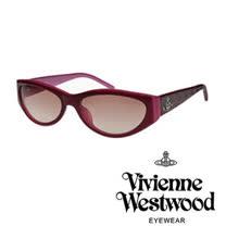 Vivienne Westwood太陽眼鏡★時尚土星壓紋★英倫龐克墨鏡(葡萄紫) VW622 02