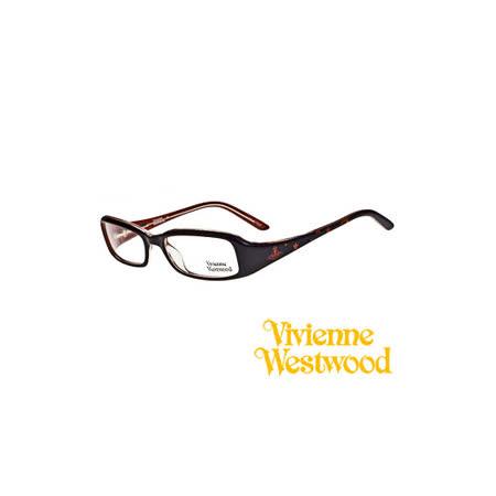Vivienne Westwood 光學鏡框★搖滾龐克星星★英倫龐克教母/平光鏡框(黑紅) VW203 01