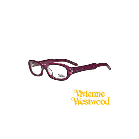 Vivienne Westwood 光學鏡框★英倫時尚菱格紋★復古粗框 平光鏡框(黑) VW205 02