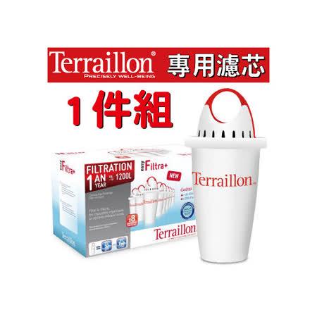 【Terraillon】Filtra+四層過濾長效型濾芯(1入裝)