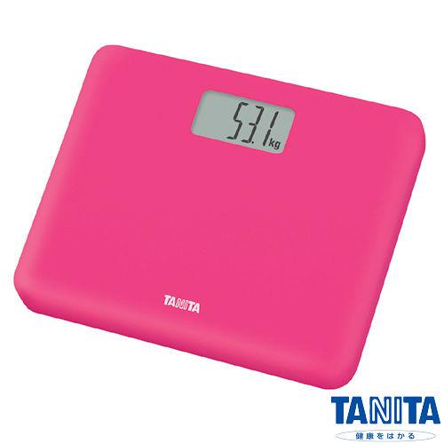 日本TANITA粉領族迷你全自動電子體重計HD-6太平洋 崇光 百貨 忠孝 店60-桃紅