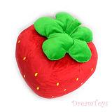 《購犀利》台灣製造-16吋QQ小草莓絨毛娃娃/填充娃娃/抱枕