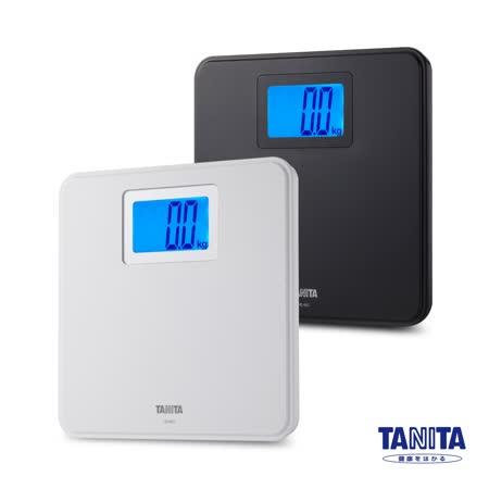 日本TANITA簡約風格全自動電子體重計HD-662-白