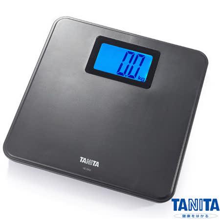 日本TANITA簡約風格全自動電子體重計HD-662-黑