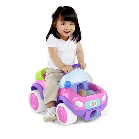 Kids II-來玩球吧-發射小球助步車-粉紅陽光