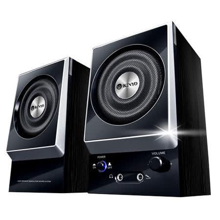 KINYO 二件式全木質立體擴大音箱 (KY-1007)