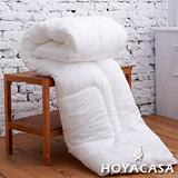 《HOYACASA 暖洋羊》雙人特級壓花純羊毛被(3kg)