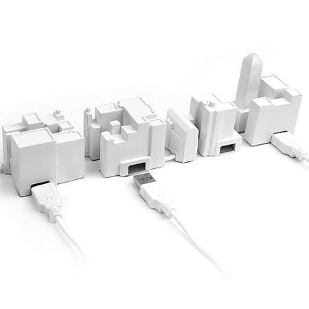 《KIKKERLAND》City USB hub集線器