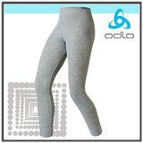 【瑞士 ODLO】兒童頂極機能型保暖長褲/黑.灰(164).10419