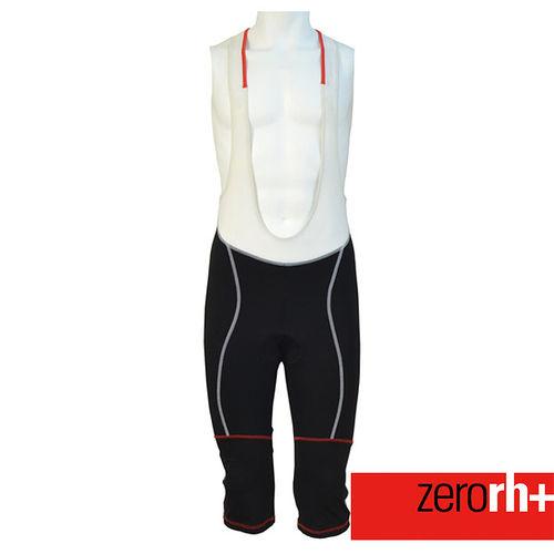 ZERORH 自行車七分吊帶車褲^(男^) ECU0021