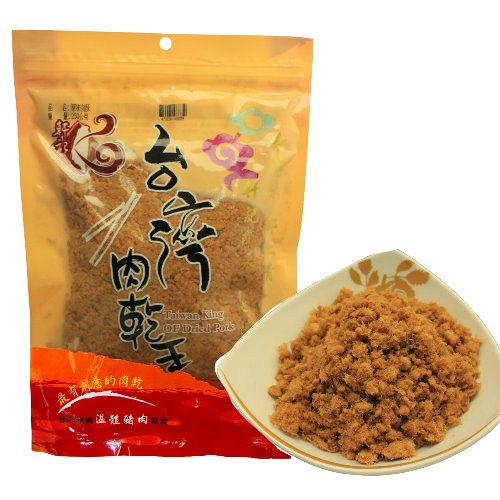 【台灣肉乾王】原味肉酥(230gx3包)+海苔肉酥(230gx3包)