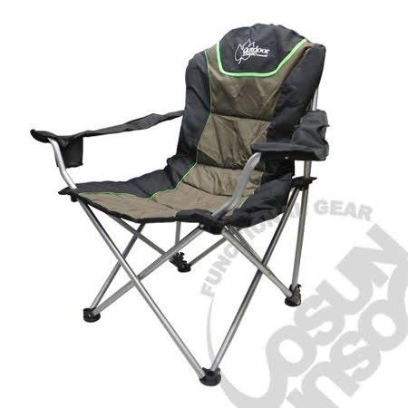 【Outdoorbase】太平洋 高背 三段式休閒椅(熱賣款).太師椅.野餐椅.露營椅.折疊椅.導演椅.三段椅(2入)