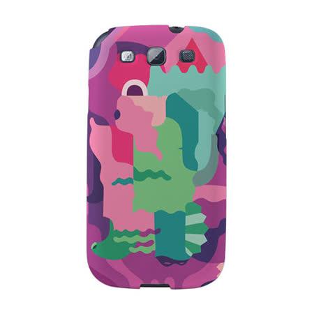 【韓國正品Makase】※Mixed Mutents1A※ SAMSUNG Galaxy S3 i9300 質感手機保護殼 附贈胸針及簡易立架