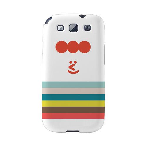 【韓國正品Makase】※EDWARD※ SAMSUNG Galaxy S3 i9300 質感手機保護殼 附贈胸針及簡易立架