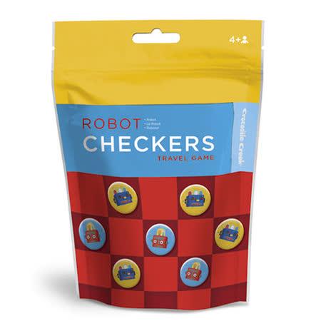 【美國Crocodile Creek】棋藝遊戲旅行拼圖(機器人)