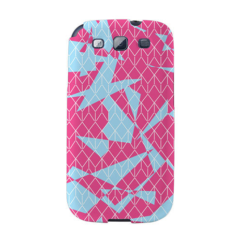 【韓國正品Makase】※ROT※ SAMSUNG Galaxy S3 i9300 質感手機保護殼 附贈胸針及簡易立架