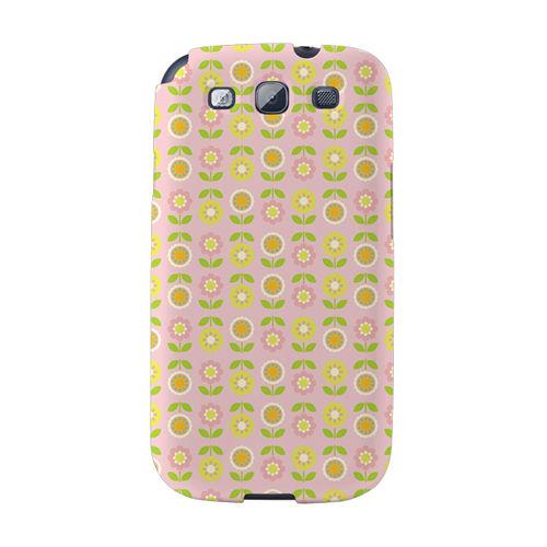 【韓國正品Makase】※SPRING GARDEN A※ SAMSUNG Galaxy S3 i9300 質感手機保護殼 附贈胸針及簡易立架