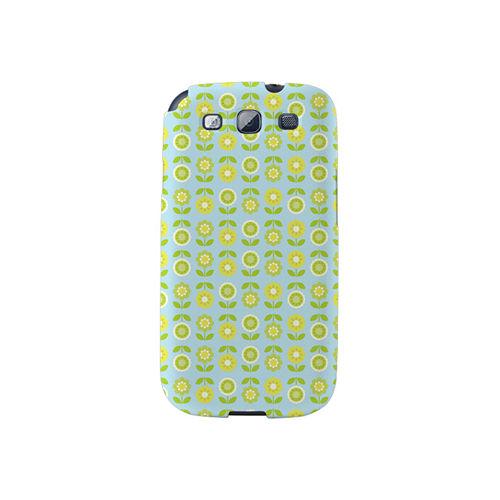 【韓國正品Makase】※SPRING GARDEN B※ SAMSUNG Galaxy S3 i9300 質感手機保護殼 附贈胸針及簡易立架