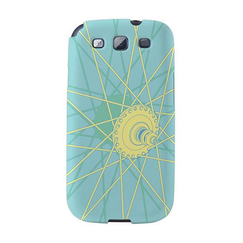 【韓國正品Makase】※BIKE.1※ SAMSUNG Galaxy S3 i9300 質感手機保護殼 附贈胸針及簡易立架