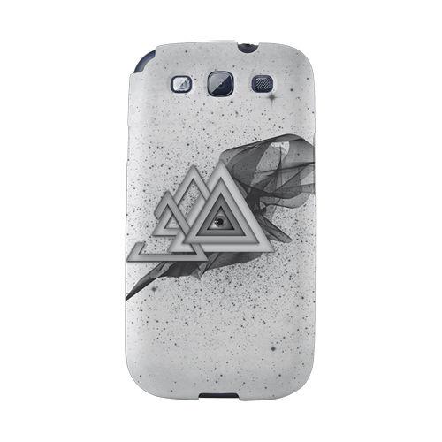 【韓國正品Makase】※ECI※ SAMSUNG Galaxy S3 i9300 質感手機保護殼 附贈胸針及簡易立架