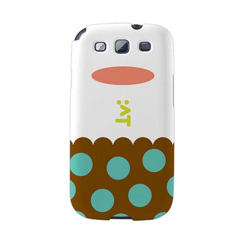 【韓國正品Makase】※LAY※ SAMSUNG Galaxy S3 i9300 質感手機保護殼 附贈胸針及簡易立架
