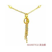 Manstyle 如意黃金小套鍊 (約3.50錢)