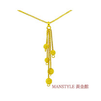 Manstyle 串連夢想黃金小套鍊 (約2.48錢)