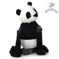 【GOLDBUG】2合1動物防走失背包 - 熊貓