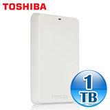 Toshiba 東芝 白靚潮 1TB USB3.0 2.5吋行動硬碟