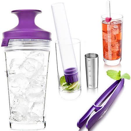 《VACU VIN》調酒量杯榨器組(3入)