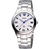 ORIENT 經典扭索狀簡約腕錶 HT71X71