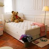 TOTOMI 子母床馬來西亞乳膠5CM限定版4線獨立筒床墊-單人3尺