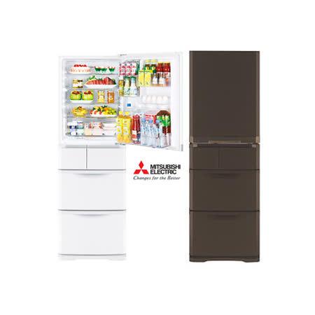 MITSUBISHI 三菱 MR-B42T 420公升變頻電冰箱 (含基本運費、1F搬運及一台舊機回收 / 不含跨區運送、安裝、樓層搬運、舊機移機等額外費)