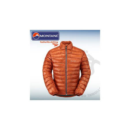 【英國 Montane】Nitro Jacket尼駝鵝絨保暖外套800fp 、羽絨衣、羽絨外套 (附收納袋) 男款/ 保暖.質輕.透氣效果佳.易收納/ MNIJA 橘