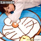 法緹~多啦A夢舒眠毛毯【正版授權】舒適保暖澎鬆‧可愛小叮噹陪伴入睡