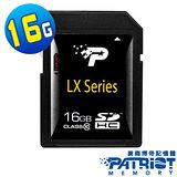 Patriot博帝 LX Series SDHC 16GB Class10 高速記憶卡