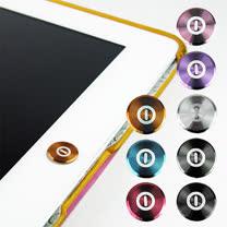 多彩鋁鎂合金按鍵貼(電源款) for iPad   iPhone   iPod Touch