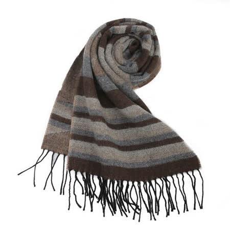 【網購】gohappy 線上快樂購Vivienne Westwood 大骷髏橫條紋滿版針織圍巾-咖啡/灰價格愛 買 餐廳