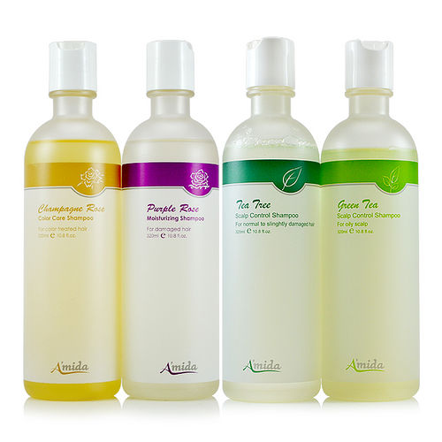 Amida 瓶裝洗髮精 320ml 四款可選