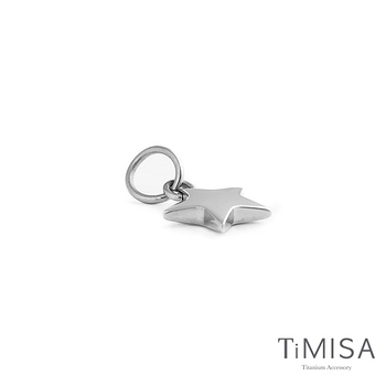 【TiMISA】幸運星 Lucky Star 純鈦墜飾