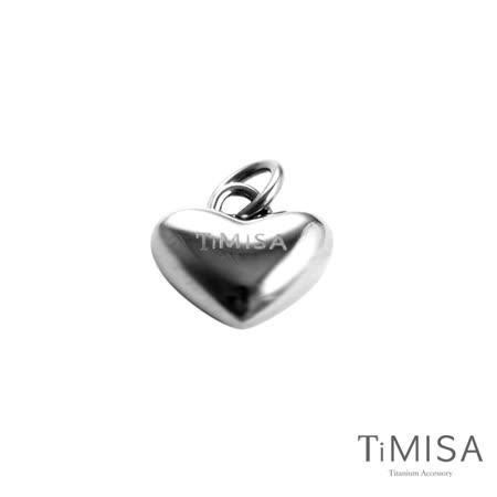 【TiMISA】鈦真心 純鈦墜飾