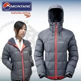 【英國 Montane】North Star Jacket北星鵝絨外套附帽 女款/ 保暖.防風.防潑水.透氣效果佳.質輕.易收納/ FNSJA 鐵灰