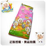 【喜羊羊與灰太狼】 開心農場篇 一般兒童睡袋- 粉紅