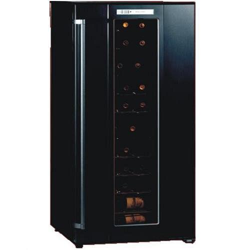 波爾多 半導體 儲酒櫃 JC-180A 72瓶 (黑色/銀黑色)