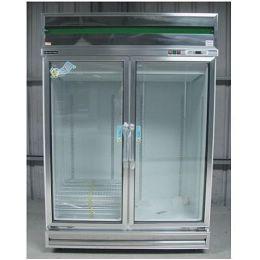 雙門玻璃型(冷凍)展示櫃  TC-400