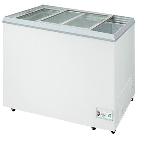 【台灣製造】-28℃ 玻璃對拉 冷凍櫃602L NI-636