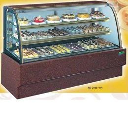 【冷藏4℃蛋糕櫃】4尺 冷藏蛋糕櫃(圓玻大理石) C-104HR