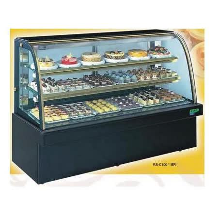 【冷藏4℃蛋糕櫃】5尺 冷藏蛋糕櫃(圓玻大理石) C-105MR