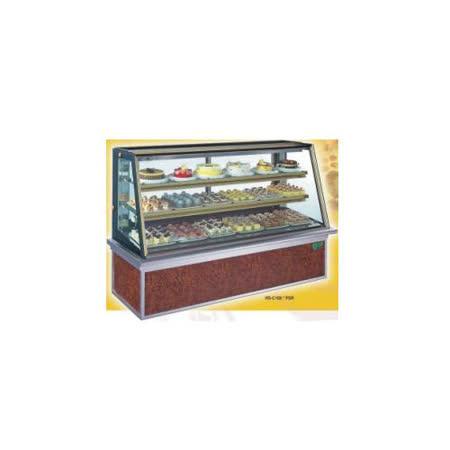 【冷藏4℃蛋糕櫃】6尺 冷藏蛋糕櫃(斜玻美耐板)  C-106PSR